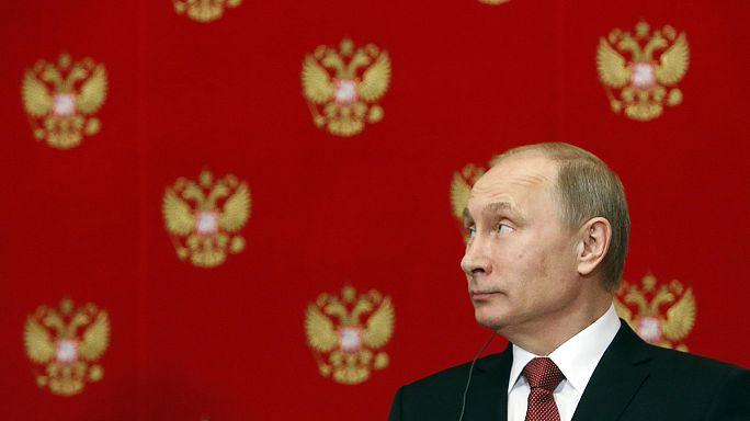 Президент России нашелся?