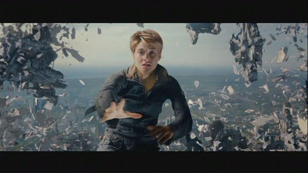 """""""Insurgente"""", el segundo capítulo de la trilogía """"Divergente"""", se estrena en Londres"""
