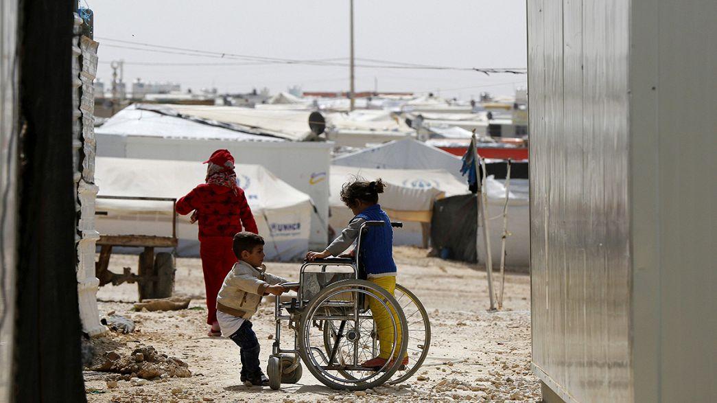 Refugiados sírios desapontados com a comunidade internacional