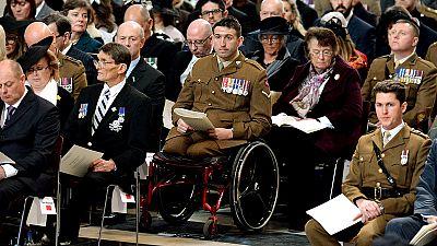 Commemorazione a St Paul per le vittime britanniche in Afghanistan