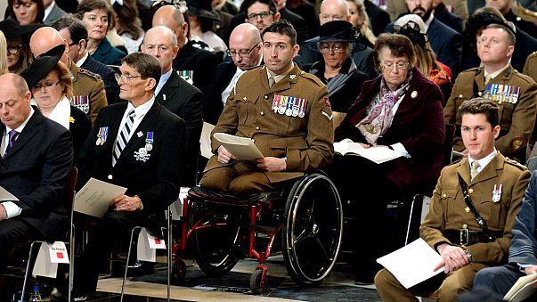 Великобритания почтила память погибших в Афганистане военных