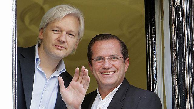 La justice suédoise entendra Julian Assange dans son refuge à Londres