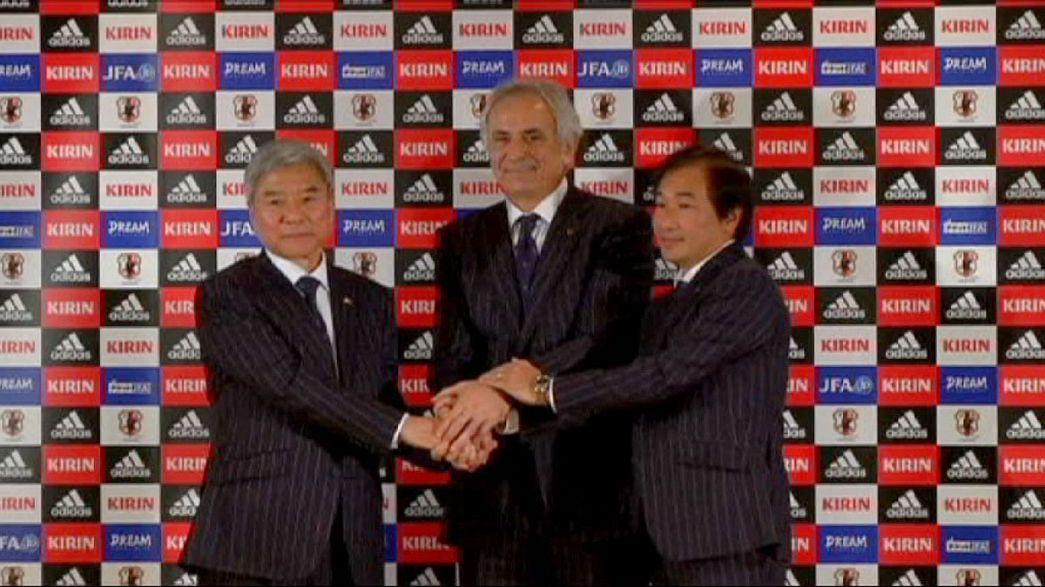 Japão apresenta Halihodzic a pensar no Mundial de 2018