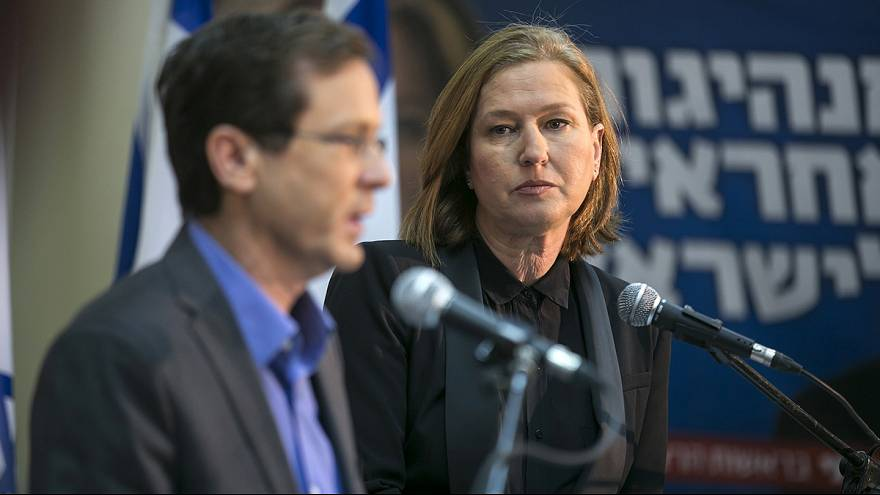 Livni and Herzog merge in Zionist Union to oust Netanyahu