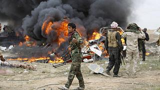 القوات العراقية تتقدم في تكريت