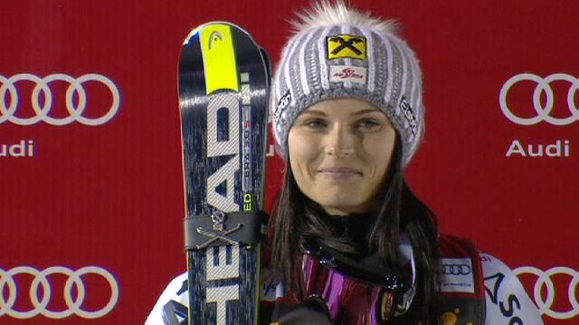 التزلج الألبي: فيننغر تفتك بصدارة الترتيب العام المؤقت