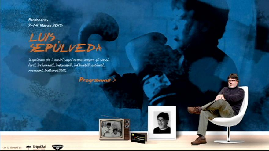 L'écrivain chilien Luis Sepúlveda hospitalisé
