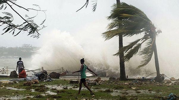 طوفان سهمگین در وانواتو