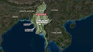 Komptragédia Mianmarnál