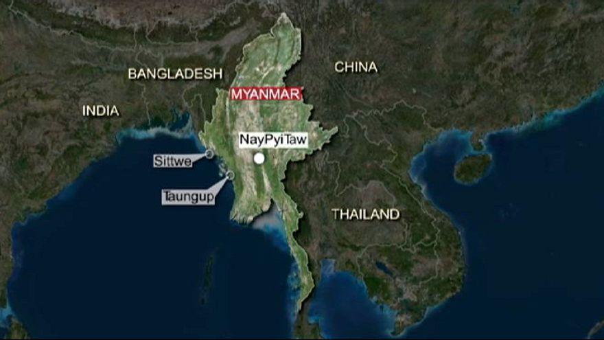 Ferry de passageiros naufraga na Birmânia