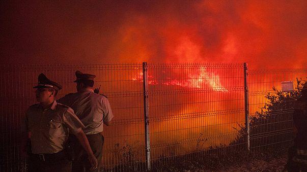 Chile: Valparaíso vuelve a ser pasto de las llamas