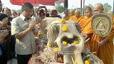 Thaiföld az Elefántok Napját ünnepli