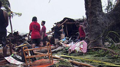 Le Vanuatu balayé par le cyclone Pam