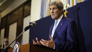 """كيري :"""" خلافات مهمة قد تحول دون التوصل إلى اتفاق مع إيران حول برنامجها النووي"""""""