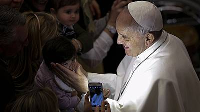 Pope Francis hints at brief papacy