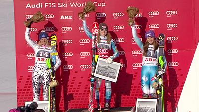 Mikaela Shiffrin hat den Slalom fest im Griff