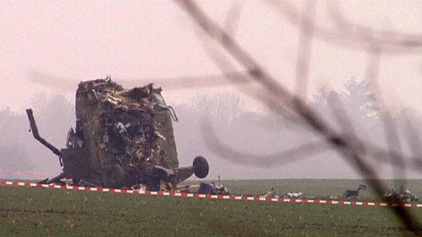 Под Белградом разбился вертолёт скорой помощи
