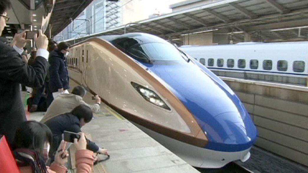 New Japan bullet train route links Tokyo with Kanazawa