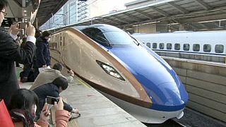 """Новая линия для """"поезда-пули"""" в Японии"""