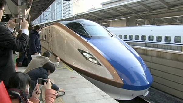 """Japon : une nouvelle ligne """"TGV"""""""