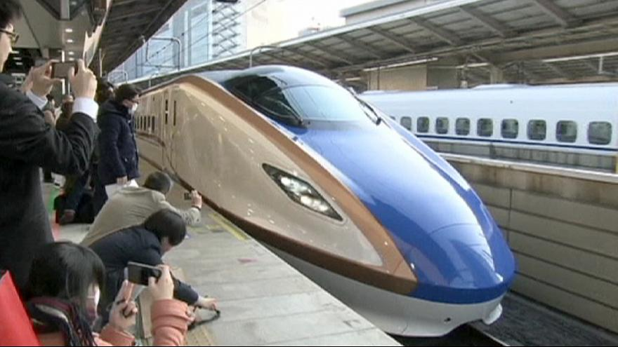 Anschluss an die schnelle Welt: Japan eröffnet Shinkansen-Strecke zur Westküste