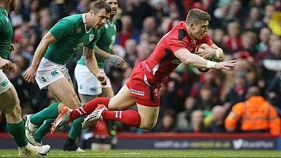 """Râguebi: Irlanda perde hipótese de um """"Grand Slam"""" e Inglaterra assume comando do Seis Nações"""