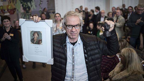 Lars Vilks recebe prémio pela liberdade de expressão