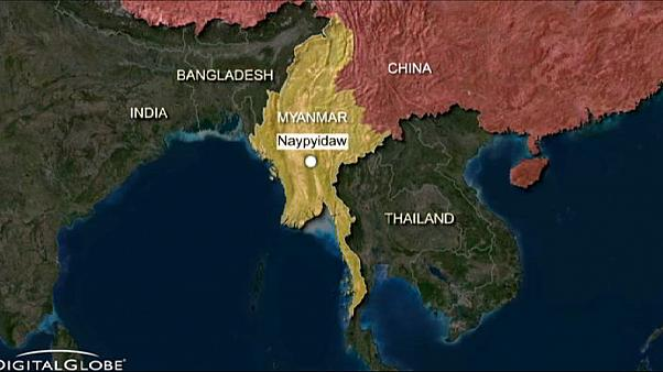 China threatens 'decisive' response after alleged Myanmar bombing