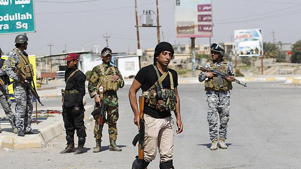 Resistencia por parte del grupo yihadista Estado Islámico en Tikrit