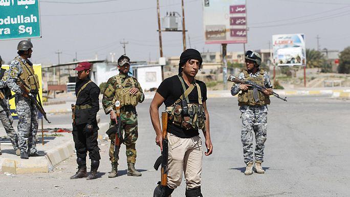 الهجوم العراقي لاستعادة مدينة تكريت من تنظيم داعش لا يزال متوقفا