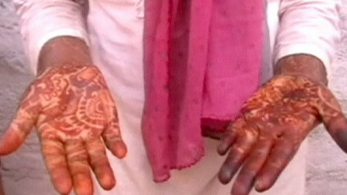 Lelépett esküvőjéről egy menyasszony Indiában