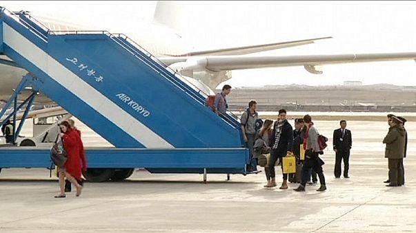 North Korea's first tourists since end of Ebola quarantine