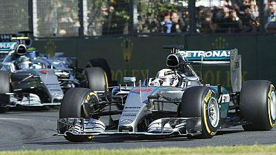 Hamilton storms to victory in Australia