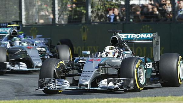 Hamilton storms to victory in Australia