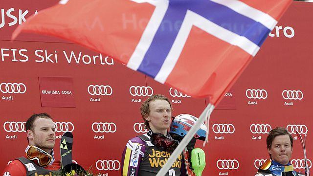 Кристофферсен выиграл второй слалом в сезоне