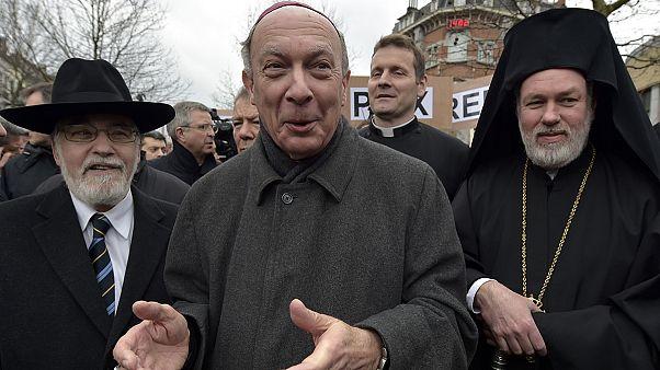 Marcha pela liberdade e respeito interreligioso em Bruxelas