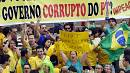One million Brazilians march calling for President Rousseff to go