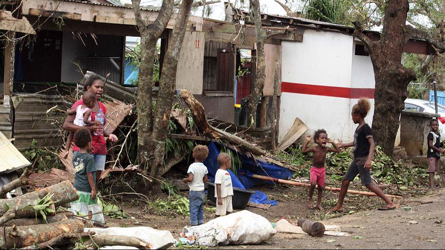 'We will have to begin again' says Vanuatu president after 'monster' cyclone