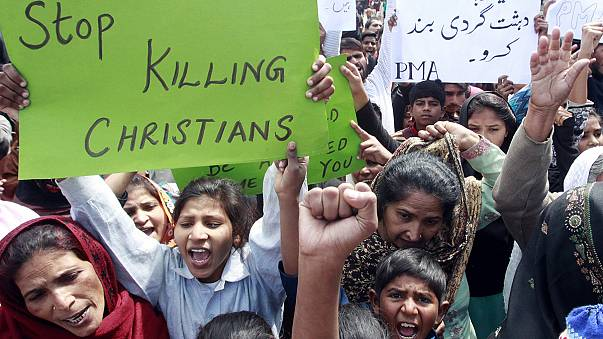 Pakisztán a keresztény áldozatokat gyászolja