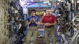 En direct de l'ISS: entretien en apesanteur