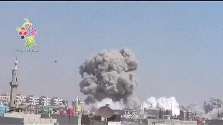 Pusztítás Szíriában
