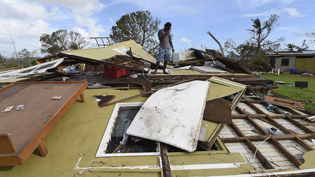 Vanuatu es la viva imagen de la destrucción
