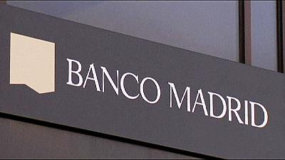 Banco Madrid files for bankruptcy