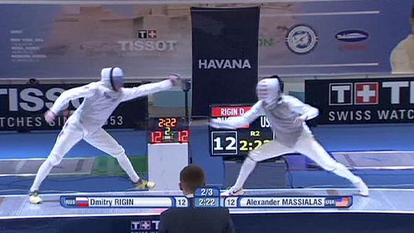 Rigin repite victoria en el Gran Prix de la Habana de florete
