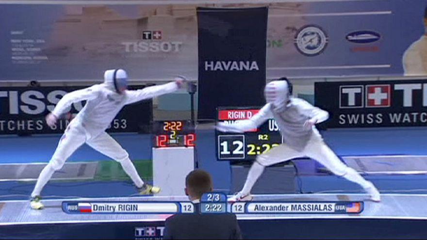 Il russo Rigin oro nel fioretto a Cuba. Italia di bronzo con Garozzo
