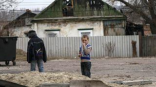 Ukraine : les enfants, victimes collatérales de la guerre