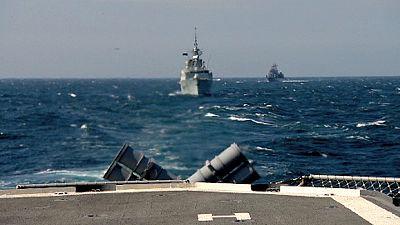 Maniobras de la OTAN cerca de Crimea