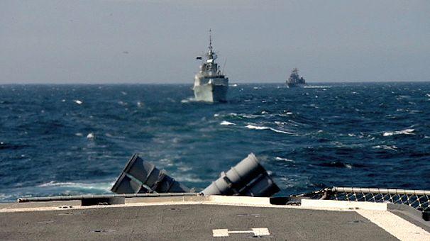 Морские учения НАТО проходят в 300 километрах от Крыма