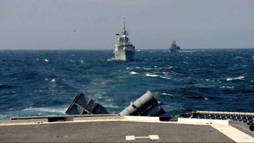 NATO holds naval exercises in the Black Sea