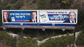Carrera electoral muy ajustada para Netanyahu en Israel